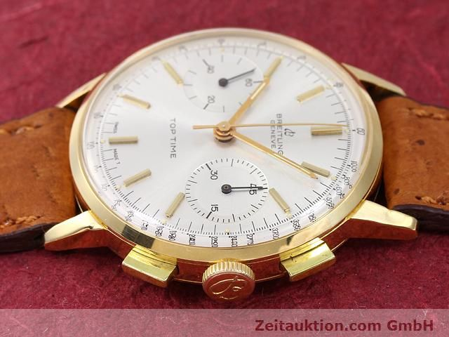 Used luxury watch Breitling Top Time 18 ct gold manual winding Kal. Venus 188  | 141007 05