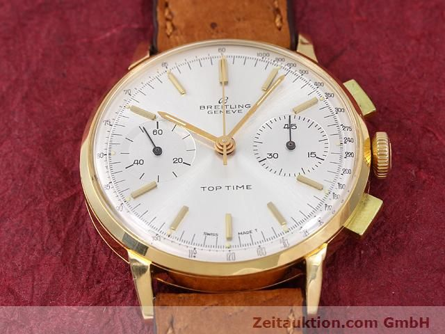 Used luxury watch Breitling Top Time 18 ct gold manual winding Kal. Venus 188  | 141007 13