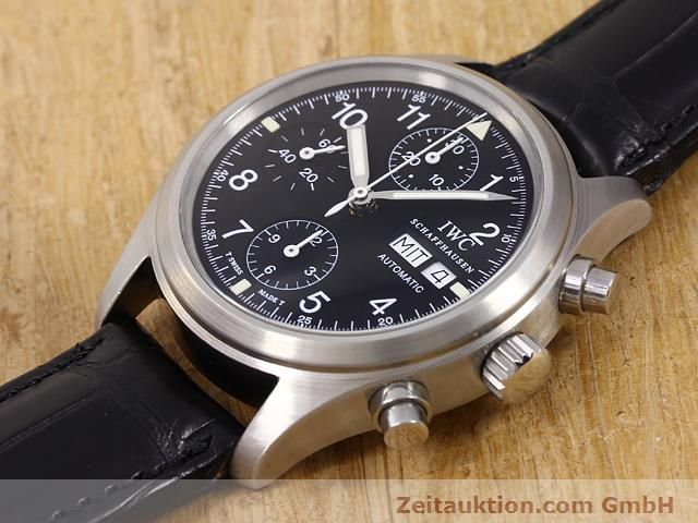 Used luxury watch IWC Fliegerchronograph steel automatic Kal. C.7922 Ref. 3706  | 141011 01