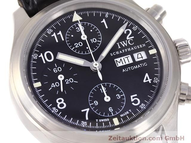 Used luxury watch IWC Fliegerchronograph steel automatic Kal. C.7922 Ref. 3706  | 141011 02
