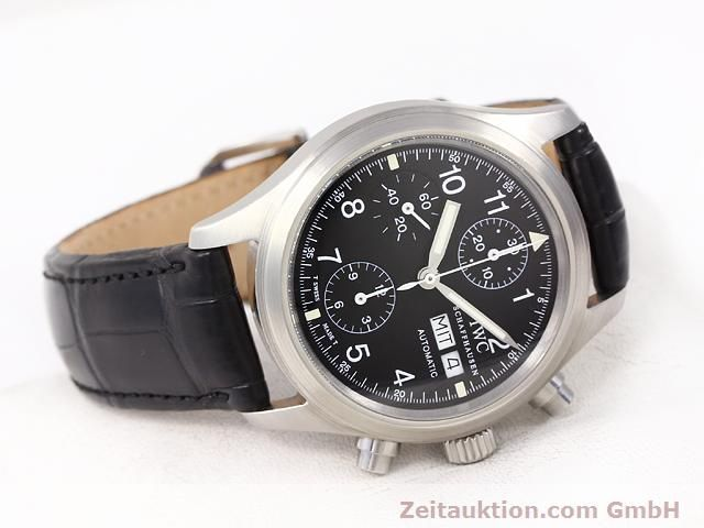 Used luxury watch IWC Fliegerchronograph steel automatic Kal. C.7922 Ref. 3706  | 141011 03