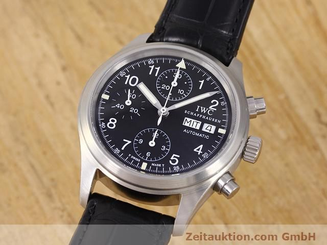Used luxury watch IWC Fliegerchronograph steel automatic Kal. C.7922 Ref. 3706  | 141011 04