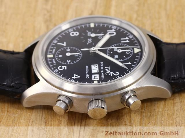 Used luxury watch IWC Fliegerchronograph steel automatic Kal. C.7922 Ref. 3706  | 141011 05