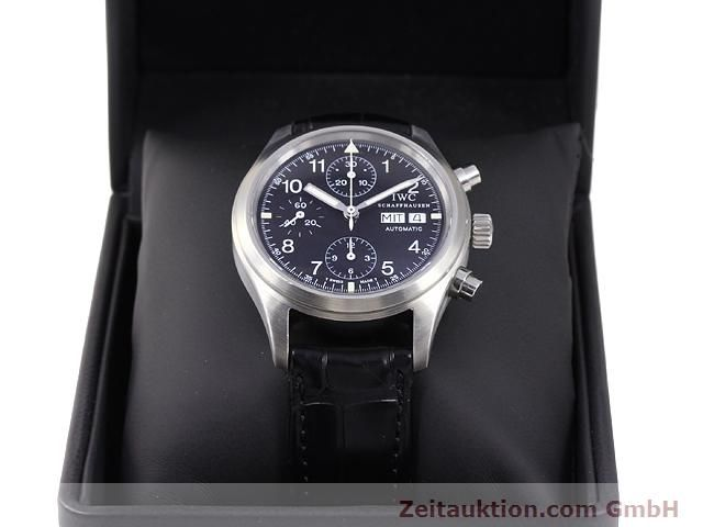 Used luxury watch IWC Fliegerchronograph steel automatic Kal. C.7922 Ref. 3706  | 141011 07