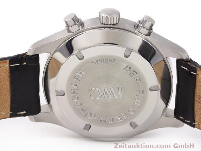 Used luxury watch IWC Fliegerchronograph steel automatic Kal. C.7922 Ref. 3706  | 141011 08