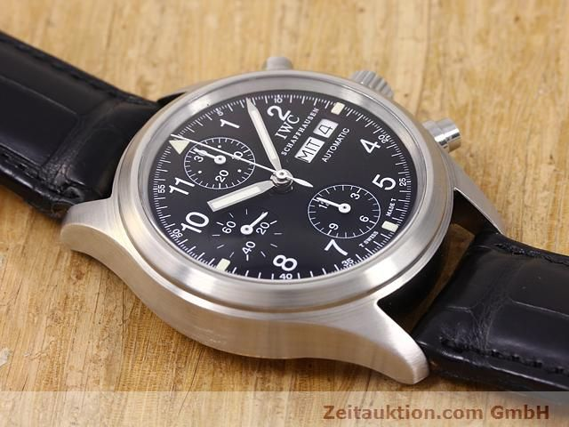 Used luxury watch IWC Fliegerchronograph steel automatic Kal. C.7922 Ref. 3706  | 141011 14