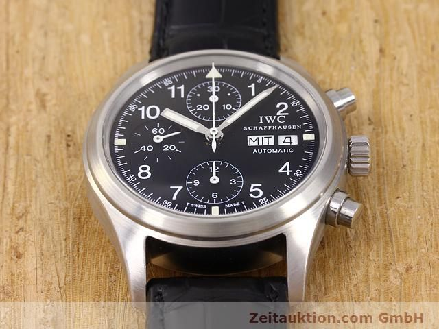 Used luxury watch IWC Fliegerchronograph steel automatic Kal. C.7922 Ref. 3706  | 141011 15