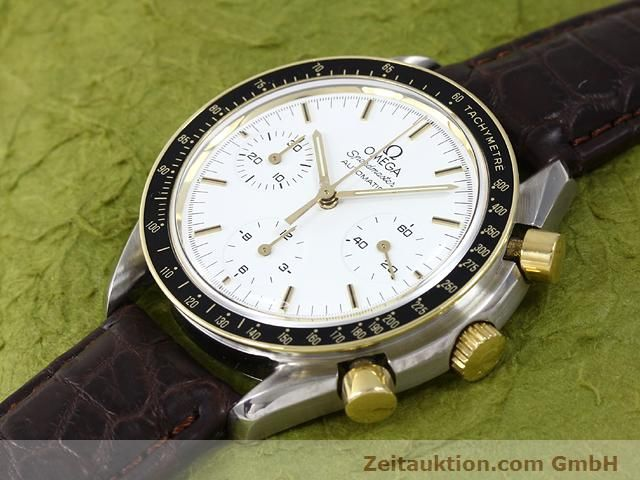 Used luxury watch Omega Speedmaster steel / gold automatic Kal. 1140 ETA 2890-2  | 141012 01