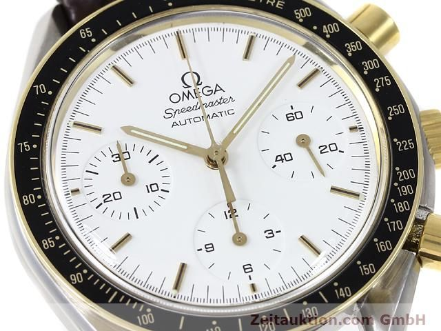 Used luxury watch Omega Speedmaster steel / gold automatic Kal. 1140 ETA 2890-2  | 141012 02