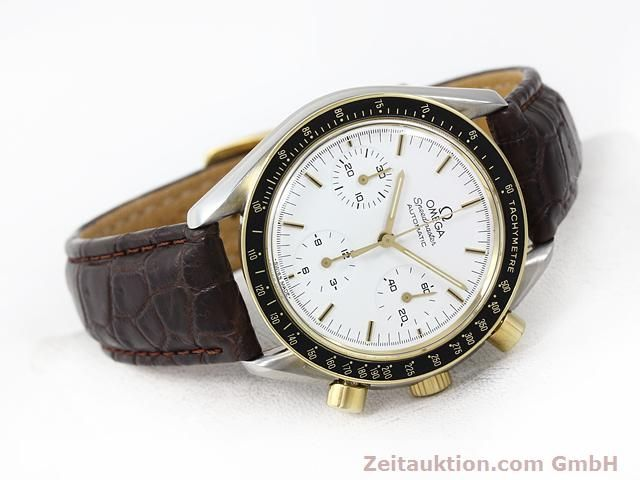Used luxury watch Omega Speedmaster steel / gold automatic Kal. 1140 ETA 2890-2  | 141012 03