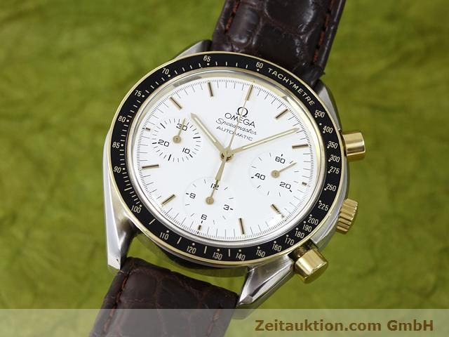Used luxury watch Omega Speedmaster steel / gold automatic Kal. 1140 ETA 2890-2  | 141012 04