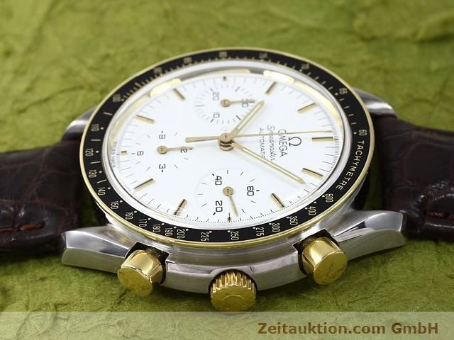 Used luxury watch Omega Speedmaster steel / gold automatic Kal. 1140 ETA 2890-2  | 141012 05