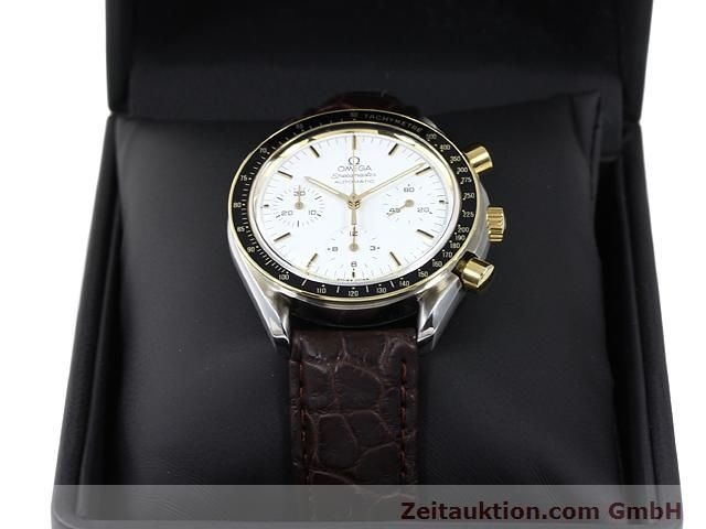Used luxury watch Omega Speedmaster steel / gold automatic Kal. 1140 ETA 2890-2  | 141012 07