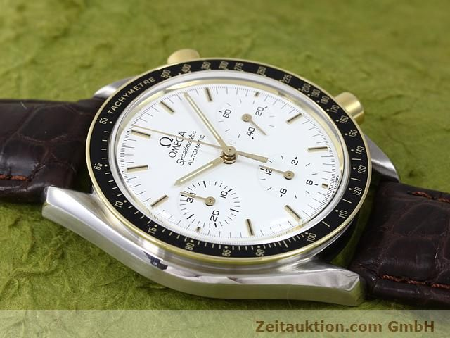 Used luxury watch Omega Speedmaster steel / gold automatic Kal. 1140 ETA 2890-2  | 141012 12