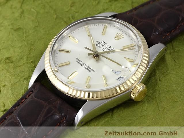 Used luxury watch Rolex Datejust steel / gold automatic Kal. 3035 Ref. 16013  | 141014 01