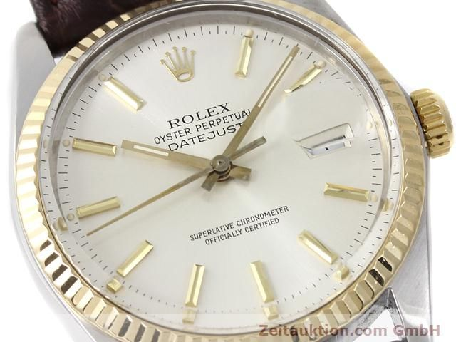 Used luxury watch Rolex Datejust steel / gold automatic Kal. 3035 Ref. 16013  | 141014 02