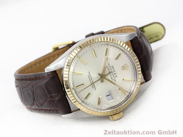 Used luxury watch Rolex Datejust steel / gold automatic Kal. 3035 Ref. 16013  | 141014 03