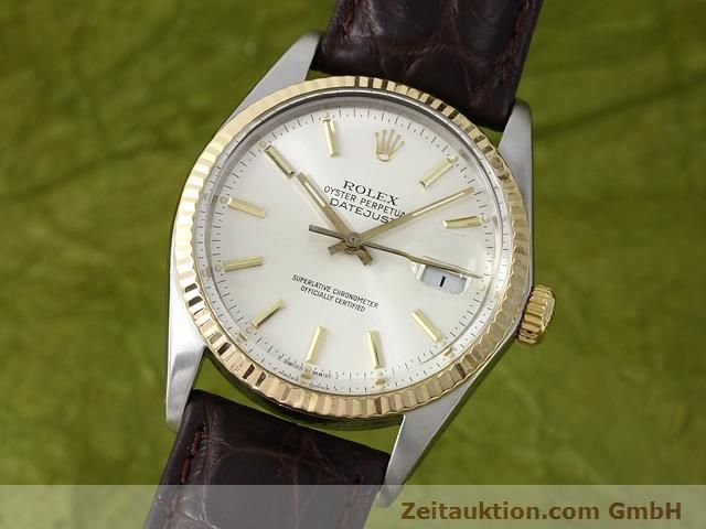 Used luxury watch Rolex Datejust steel / gold automatic Kal. 3035 Ref. 16013  | 141014 04
