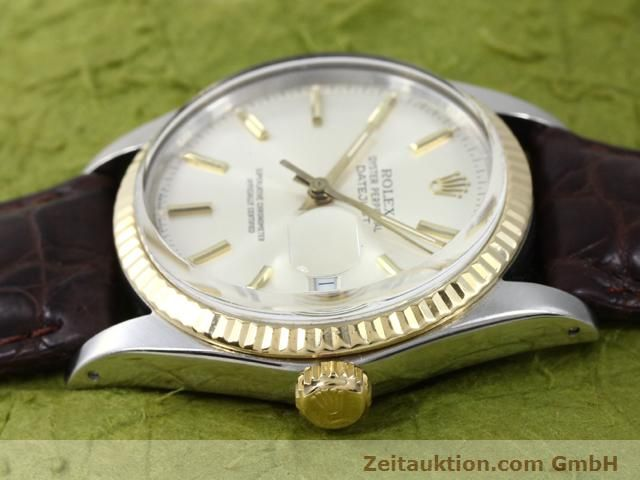 Used luxury watch Rolex Datejust steel / gold automatic Kal. 3035 Ref. 16013  | 141014 05