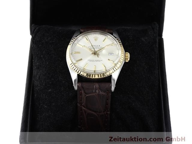 Used luxury watch Rolex Datejust steel / gold automatic Kal. 3035 Ref. 16013  | 141014 07