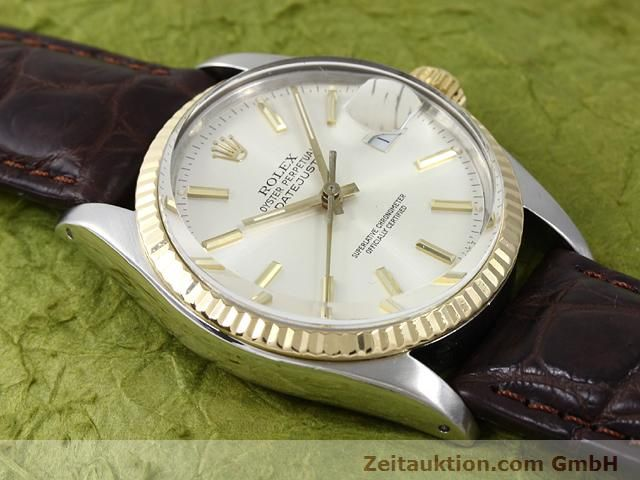 Used luxury watch Rolex Datejust steel / gold automatic Kal. 3035 Ref. 16013  | 141014 13