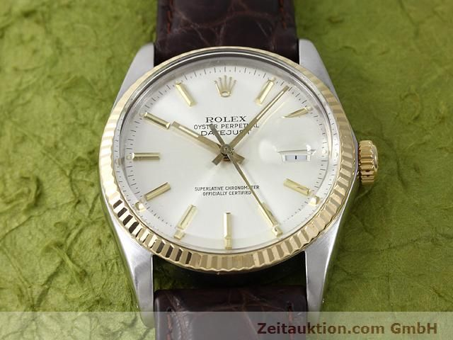 Used luxury watch Rolex Datejust steel / gold automatic Kal. 3035 Ref. 16013  | 141014 14
