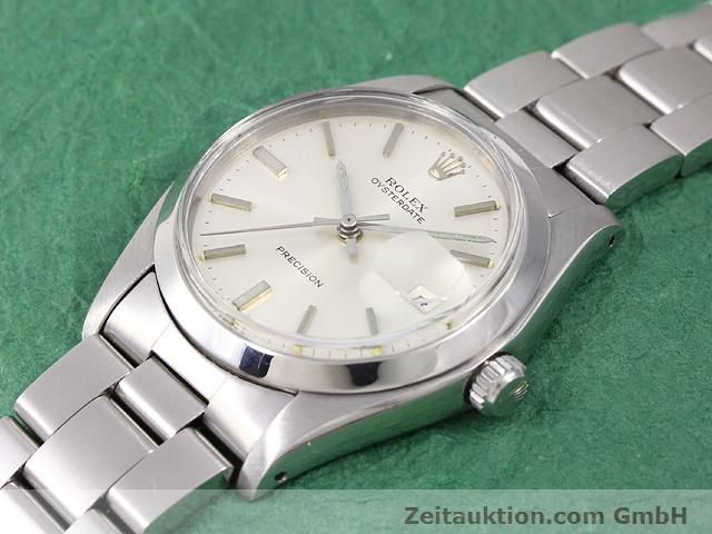Used luxury watch Rolex Precision steel manual winding Kal. 1225 Ref. 6694  | 141015 01