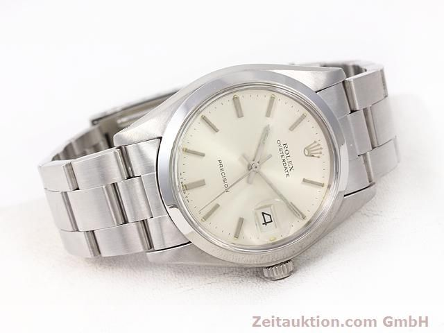 Used luxury watch Rolex Precision steel manual winding Kal. 1225 Ref. 6694  | 141015 03