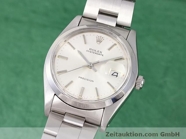 Used luxury watch Rolex Precision steel manual winding Kal. 1225 Ref. 6694  | 141015 04