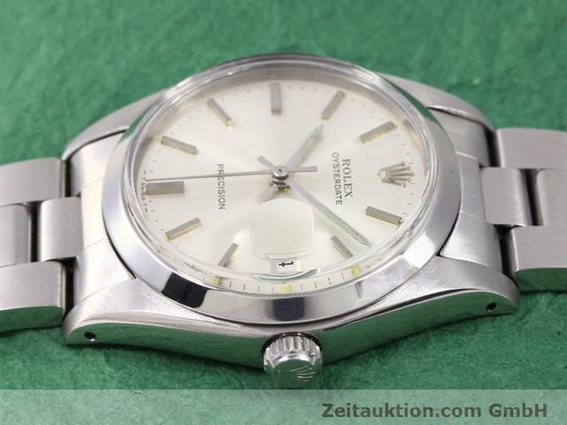 Used luxury watch Rolex Precision steel manual winding Kal. 1225 Ref. 6694  | 141015 05