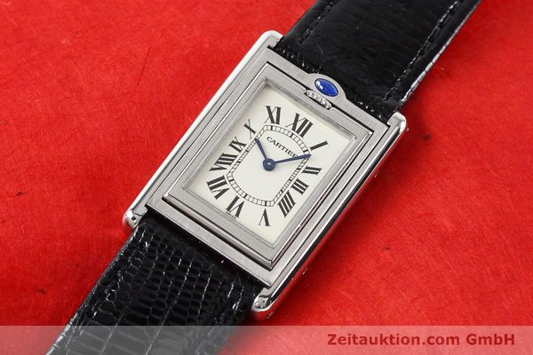 Used luxury watch Cartier * steel quartz VINTAGE  | 141017 01