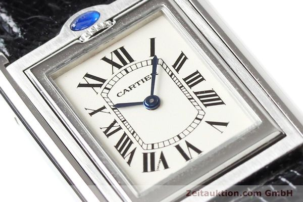 Used luxury watch Cartier * steel quartz VINTAGE  | 141017 02