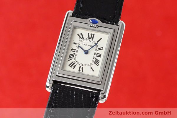 Used luxury watch Cartier * steel quartz VINTAGE  | 141017 04