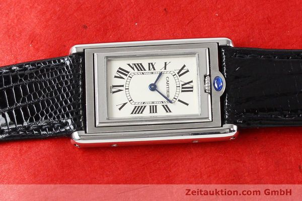 Used luxury watch Cartier * steel quartz VINTAGE  | 141017 05