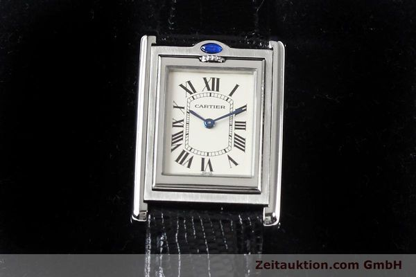 Used luxury watch Cartier * steel quartz VINTAGE  | 141017 07