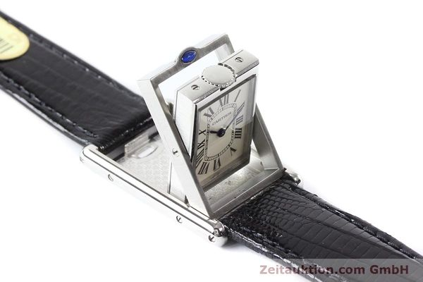 Used luxury watch Cartier * steel quartz VINTAGE  | 141017 08