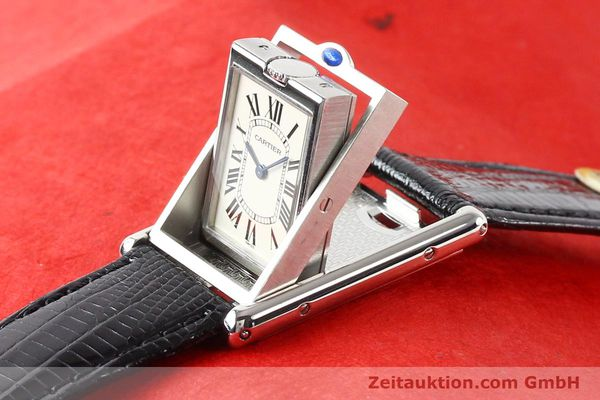 Used luxury watch Cartier * steel quartz VINTAGE  | 141017 10