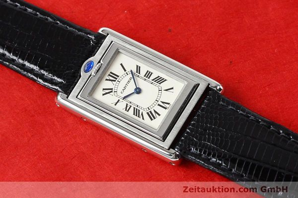 Used luxury watch Cartier * steel quartz VINTAGE  | 141017 12