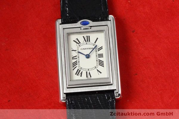 Used luxury watch Cartier * steel quartz VINTAGE  | 141017 13