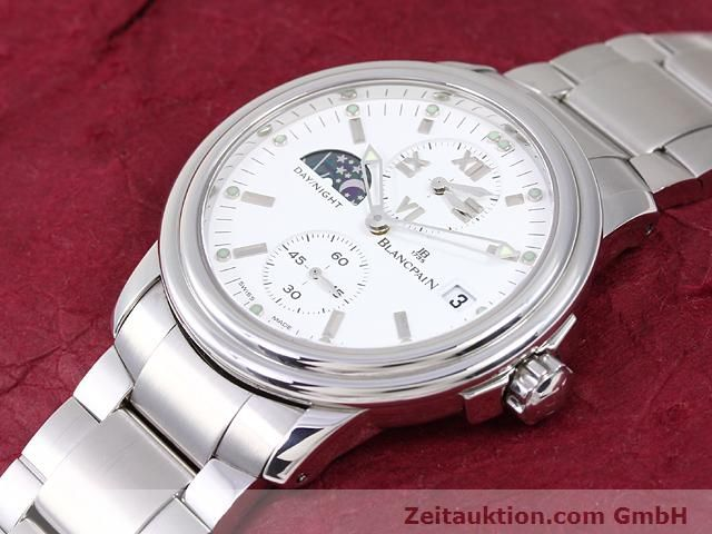 Used luxury watch Blancpain Leman steel automatic Kal. 5L60  | 141018 01