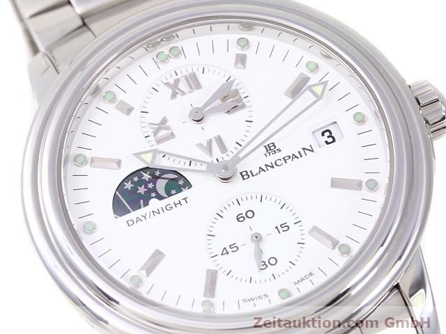 Used luxury watch Blancpain Leman steel automatic Kal. 5L60  | 141018 02