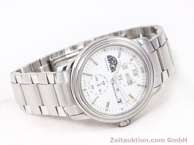 Used luxury watch Blancpain Leman steel automatic Kal. 5L60  | 141018 03