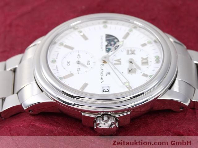 Used luxury watch Blancpain Leman steel automatic Kal. 5L60  | 141018 05