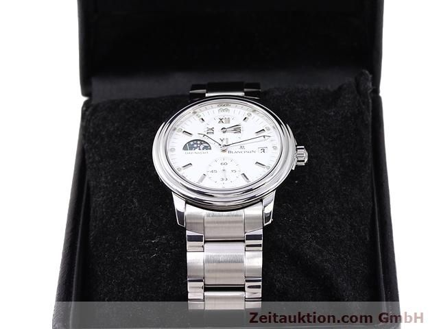 Used luxury watch Blancpain Leman steel automatic Kal. 5L60  | 141018 07