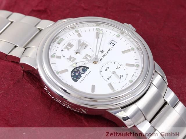 Used luxury watch Blancpain Leman steel automatic Kal. 5L60  | 141018 15