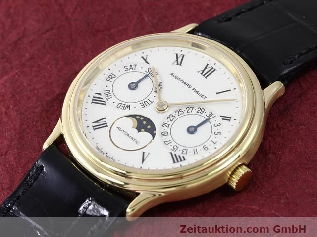 Used luxury watch Audemars Piguet * 18 ct gold automatic Kal. 2124  | 141021 01