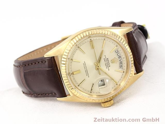 montre de luxe d occasion Rolex Day-Date or 18 ct automatique Kal. 1555 Ref. 1803  | 141023 03