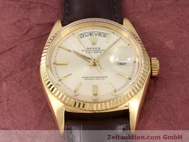 montre de luxe d occasion Rolex Day-Date or 18 ct automatique Kal. 1555 Ref. 1803  | 141023 14