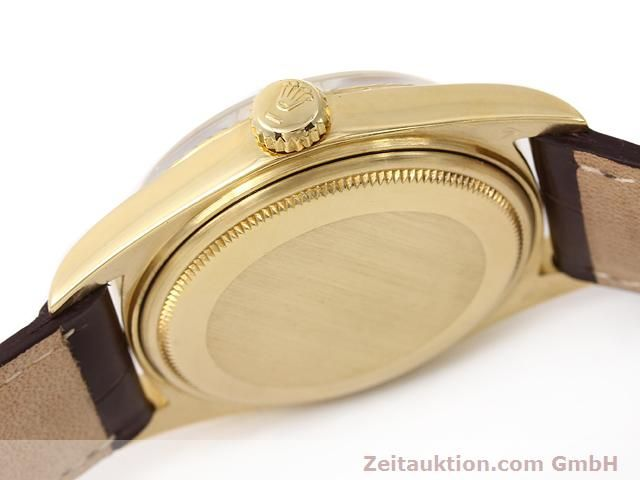 Used luxury watch Rolex Datejust 18 ct gold automatic Kal. 1570 Ref. 1601  | 141024 11