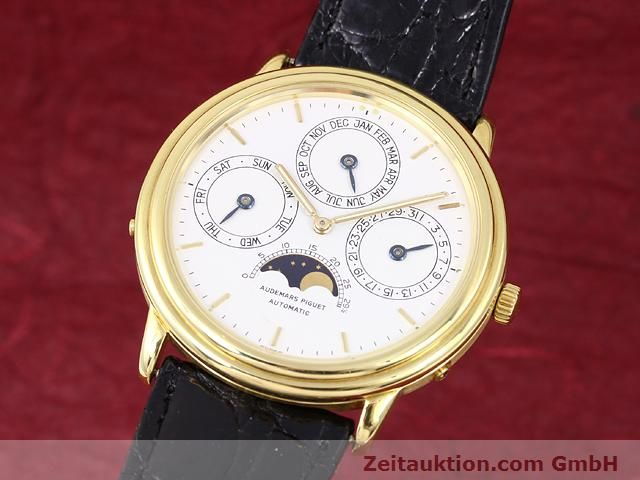 Used luxury watch Audemars Piguet Ewiger Kalender 18 ct gold automatic Kal. 2120/1 Ref. B56041  | 141025 04